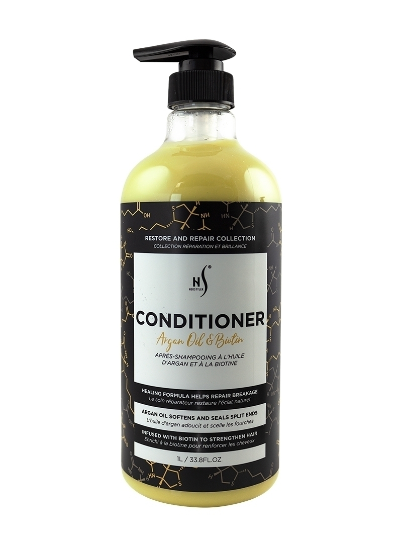 Argan Oil Biotin Conditioner 1 Liter Front