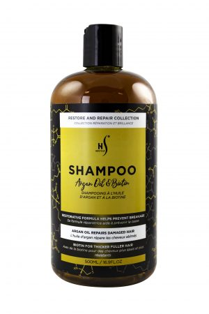 500ml shampoo argan
