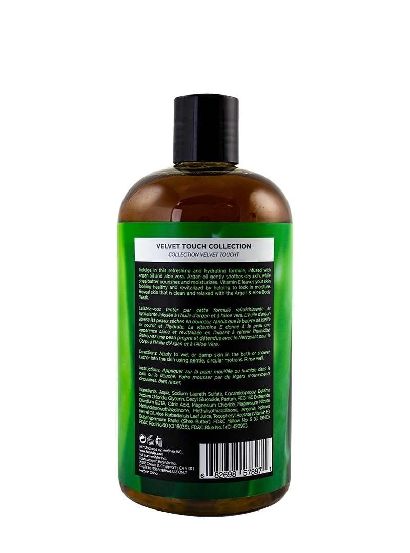 Argan Oil and Aloe Body Wash 500ml Back
