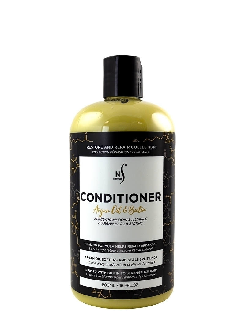 Argan Oil and Biotin Conditioner 500ml Front