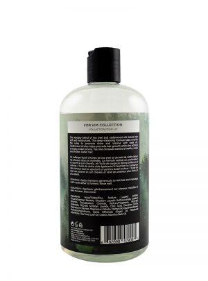 Cedarwood Oil and Tea Tree Shampoo 500ml Back