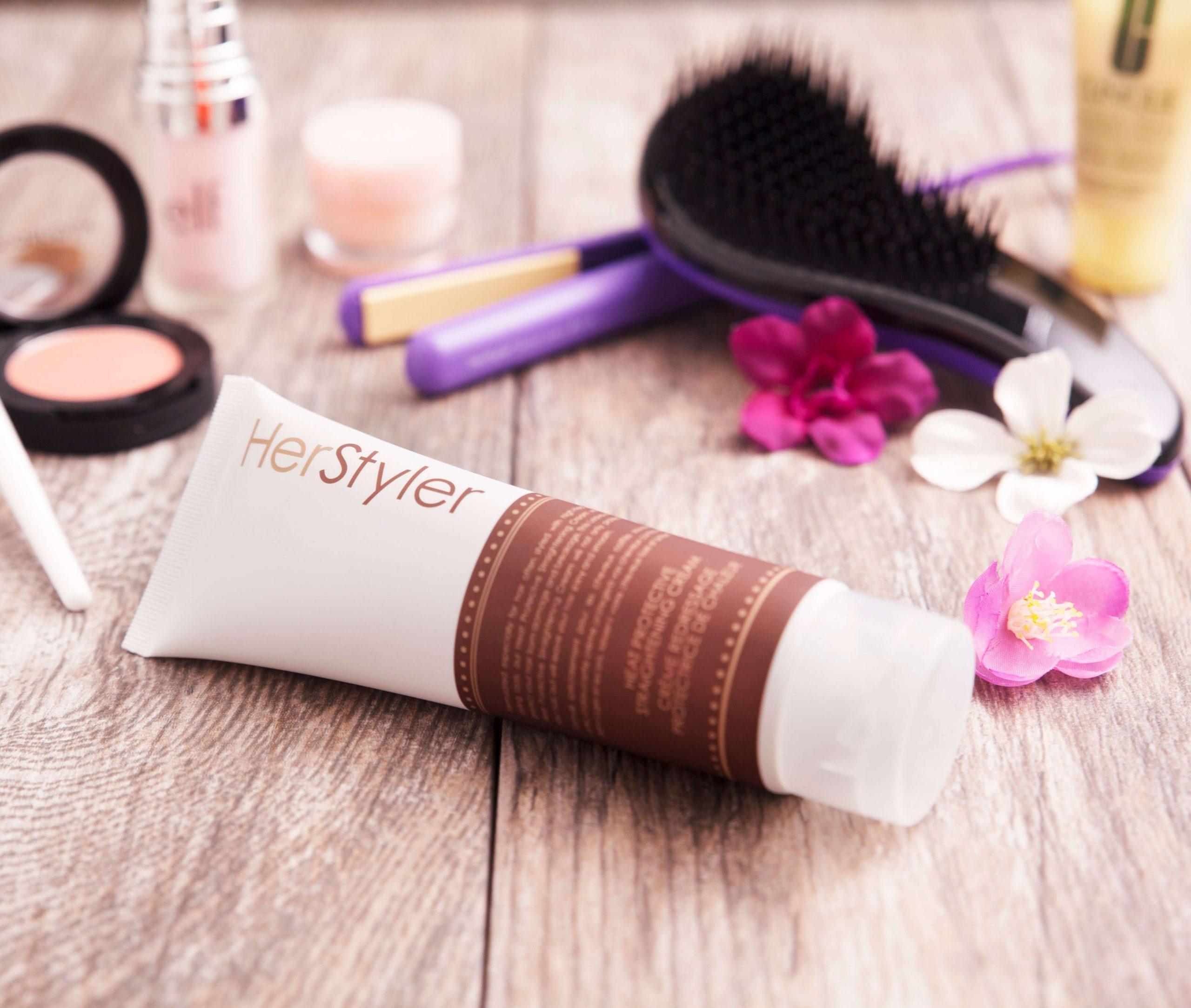 Herstyler hair styler protectant cream