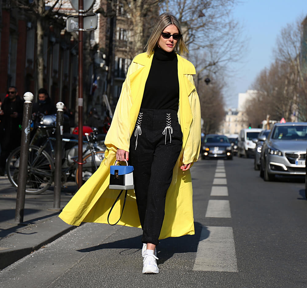Sophie Valkiers at the Paris Fashion Week Feb 2018