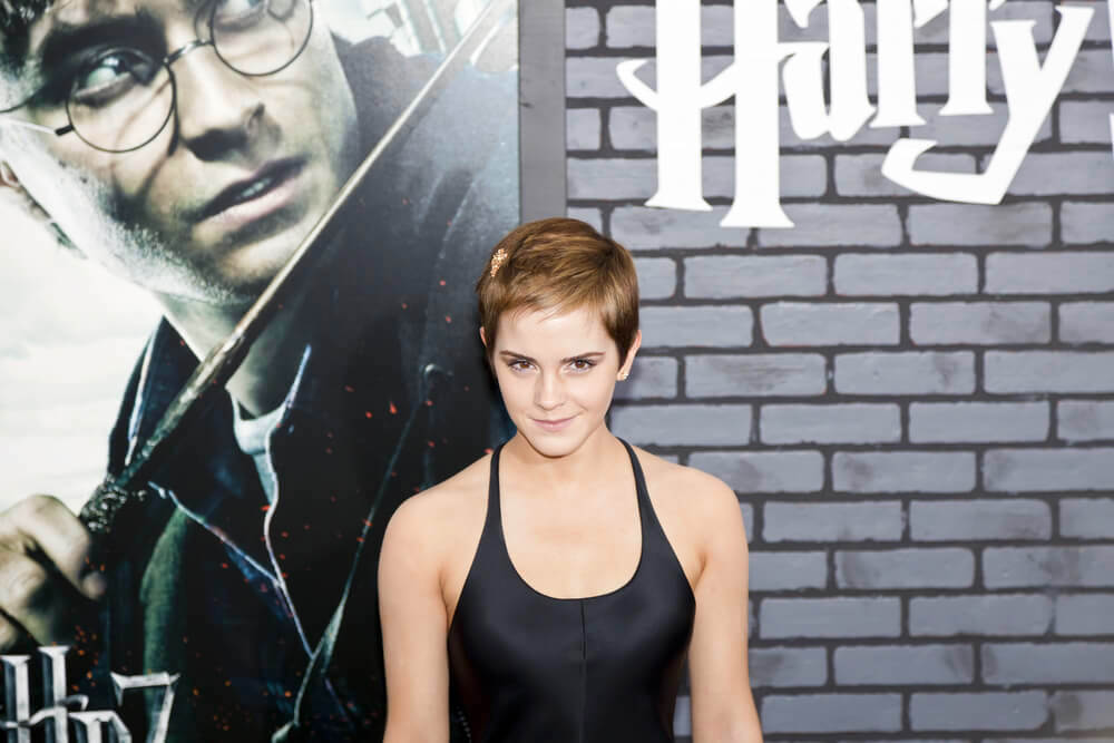 Emma Watson attends the premiere of 'Harry Potter and the Deathly Hallows: Part 1' at Alice Tully Hall on November 15, 2010 in New York City.