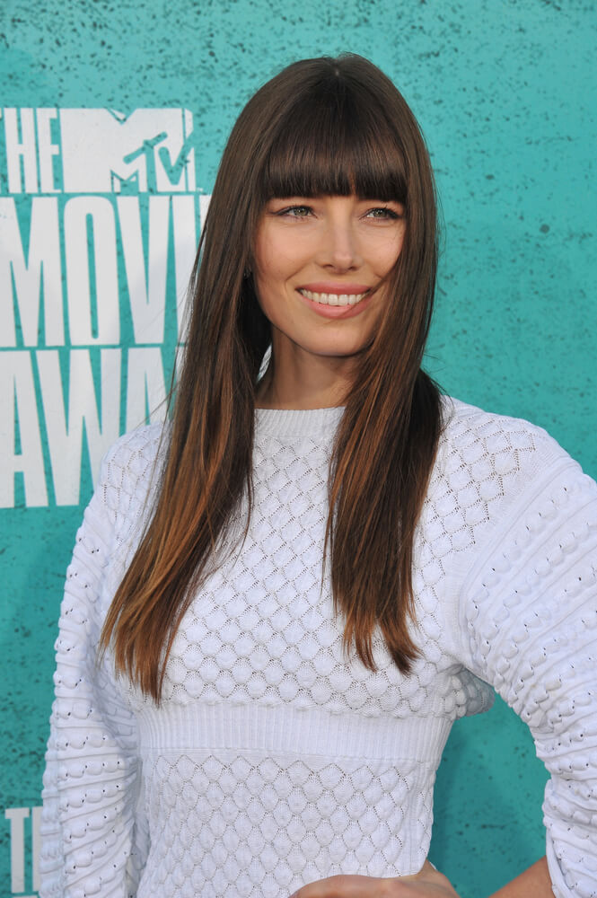 Jessica Biel at the 2012 MTV Movie Awards