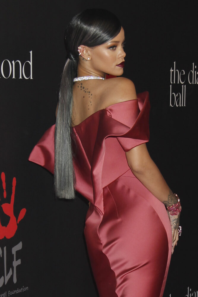 Rihanna at the Rihanna's First Annual Diamond Ball
