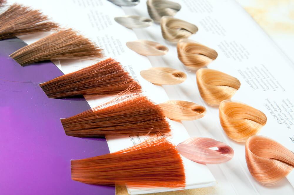 Hair dye shades for eyebrows color