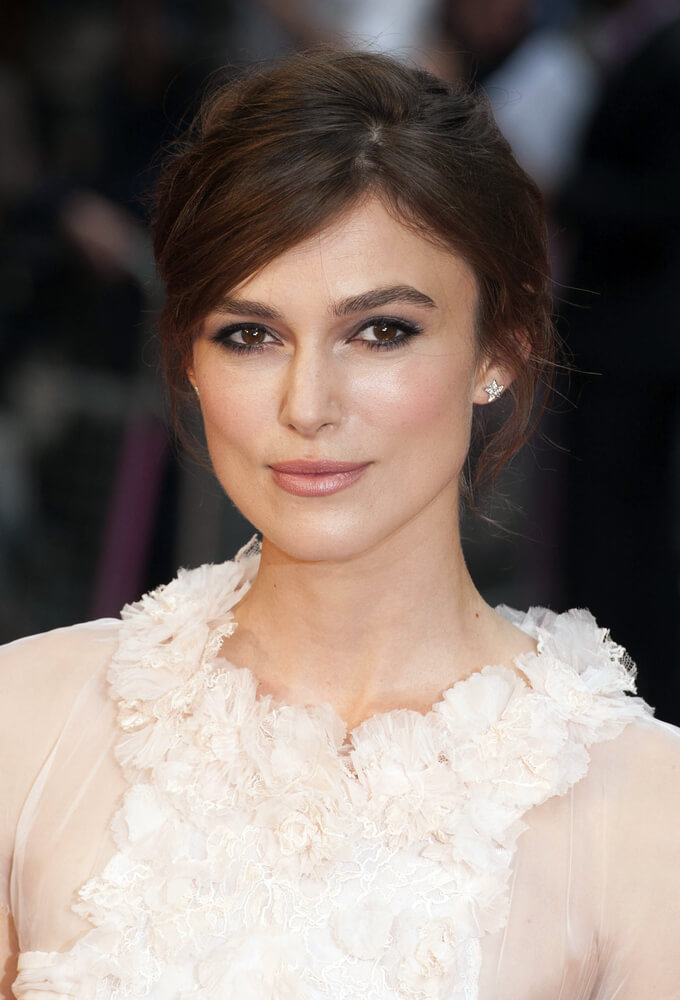 Keira Knightley arriving the UK premiere of Anna Karenina at Odeon Leicester Square, London. 05/09/2012