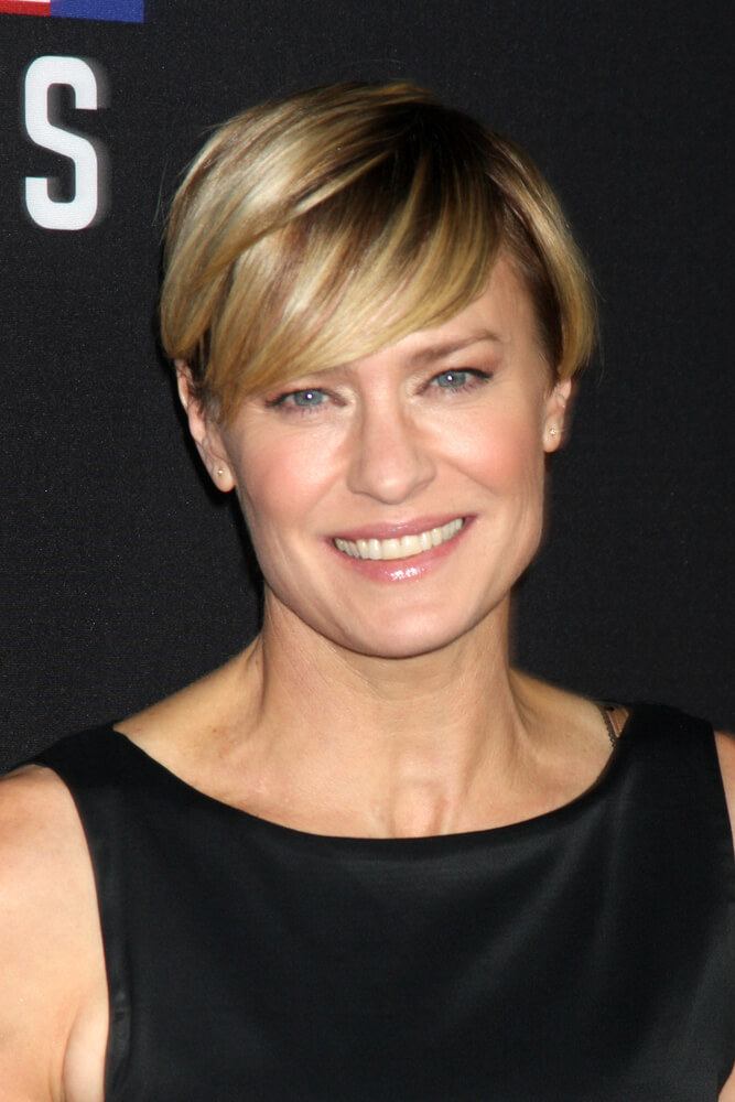 """LOS ANGELES - FEB 13: Robin Wright at the """"House of Cards"""" Season 2 Special Screening at Directors Guild of America on February 13, 2014 in Los Angeles, CA"""