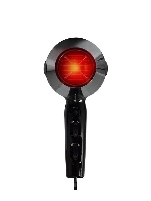 HerStyler LED Pro Luxe Dryer back light on
