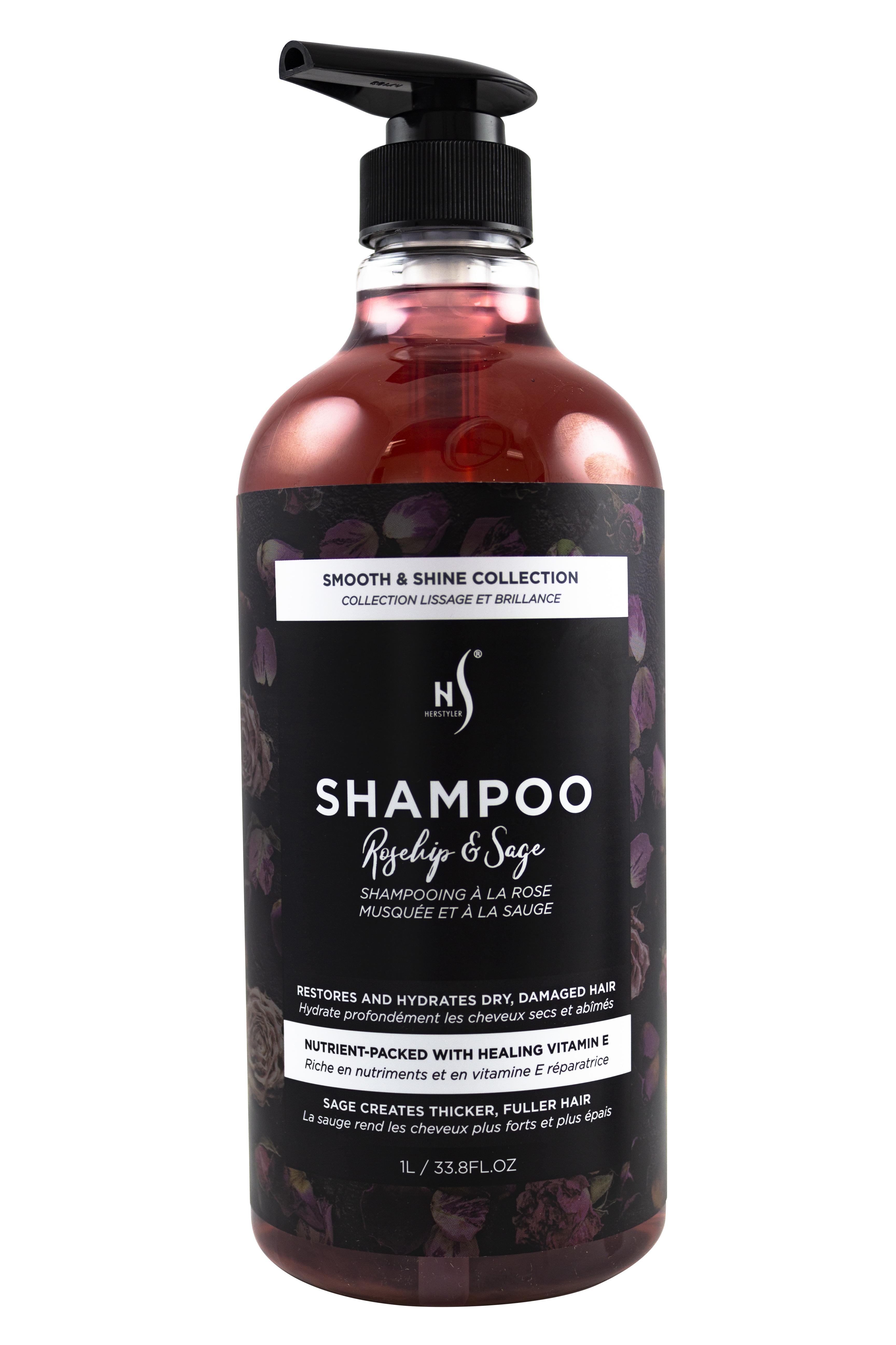 rosehip sage shampoo 1l