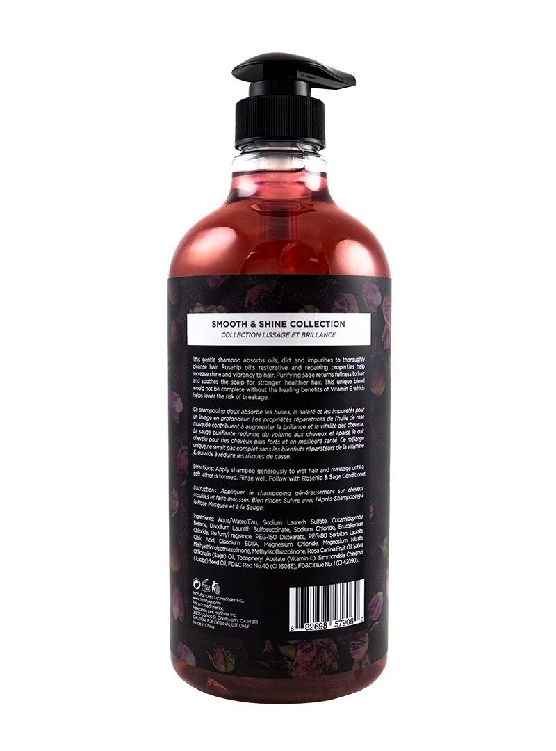 Rosehip and Sage Shampoo 1 Liter Back