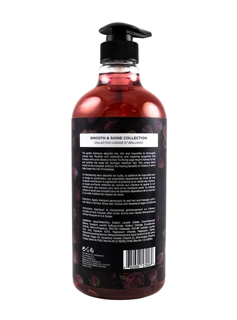 Rosehip and Sage Shampoo 1 Liter Back