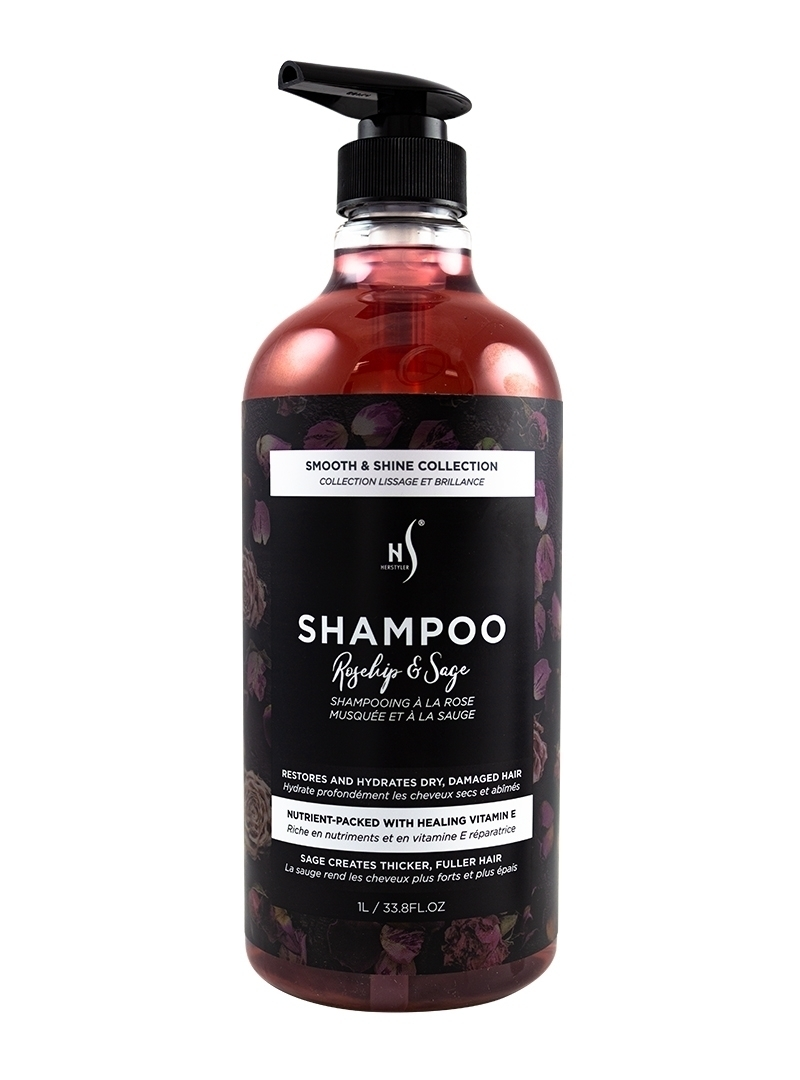 Rosehip and Sage Shampoo 1 Liter Front