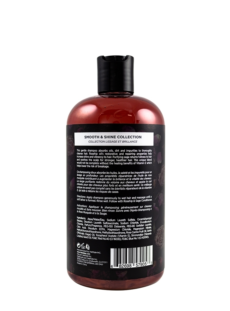 Rosehip and Sage Shampoo 500ml Black
