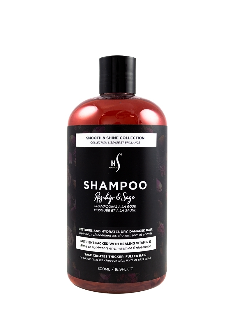Rosehip and Sage Shampoo 500ml Front