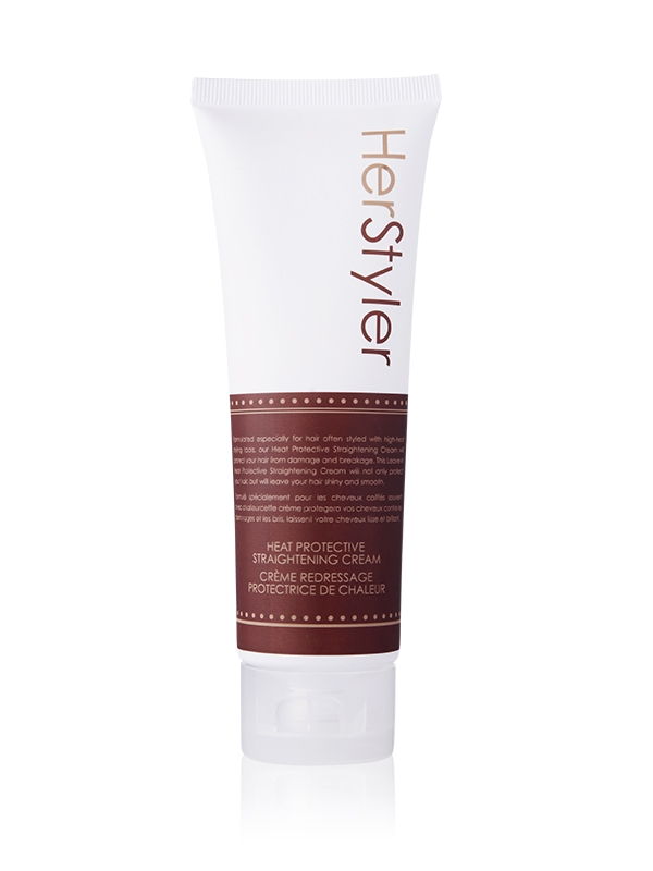HerStyler Heat Protective Straightening Cream