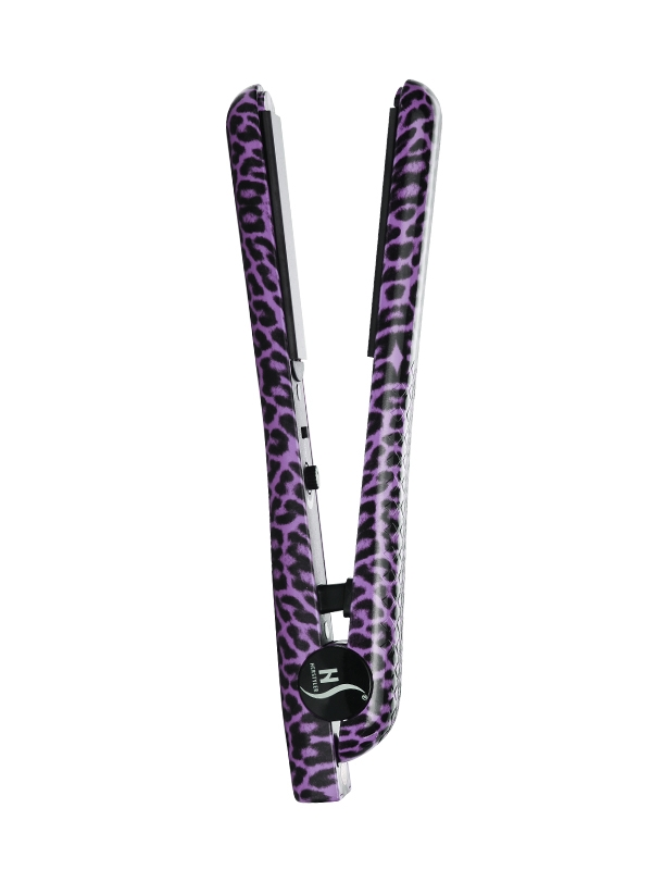 HerStyler Purple Leopard Set Straightener
